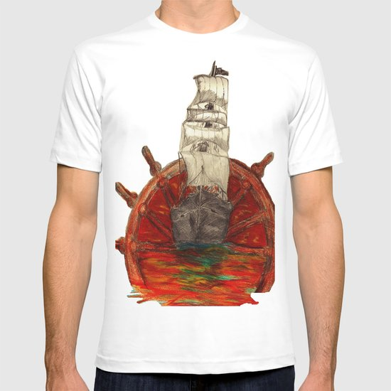 Steering into a new setting T-shirt