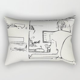 Workroom details Rectangular Pillow