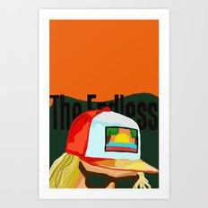 The Endless ONE Art Print