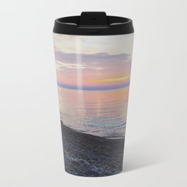 Cotton Candy Skies  Metal Travel Mug