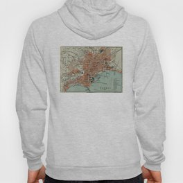 Vintage Map of Naples Italy (1911) Hoody