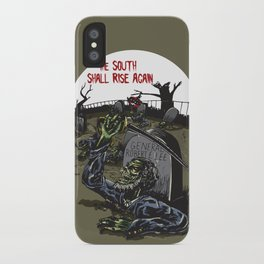 The South Shall Rise Again iPhone Case