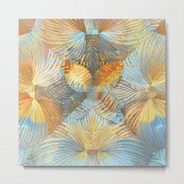Abstract Garden Metal Print