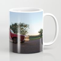 truck Mugs featuring Truck by Bex Finch