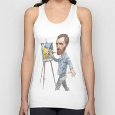 Van Gogh Paints Night Cafe Unisex Tank Top