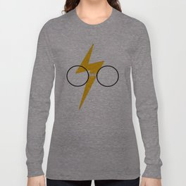 HP glasses, taped Long Sleeve T-shirt