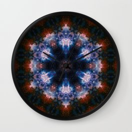 Flower PsYco Wall Clock
