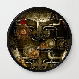 Wonderful noble steampunk design Wall Clock