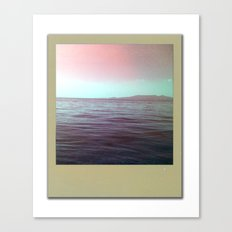 The sea of my hometown Canvas Print