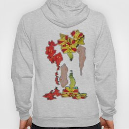 Melting Women and Orchids Hoody