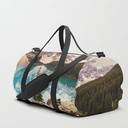 Moraine Lake III Banff Summer Mountain Reflection Duffle Bag