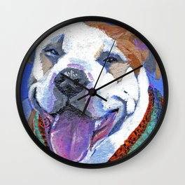 It's Da Pits (Pitbull 1) Wall Clock