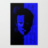 jesse pinkman Canvas Prints featuring Jesse Pinkman  by Micah Lanier