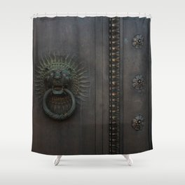 Dark Entry  Shower Curtain