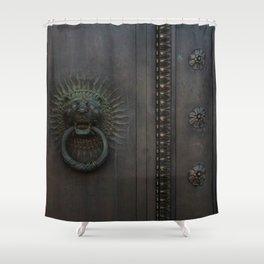 Dark Entry  Shower Curtain