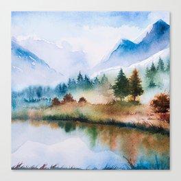 Winter scenery #16 Canvas Print