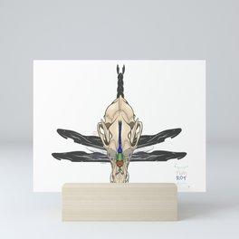 Dergus Skull Mini Art Print