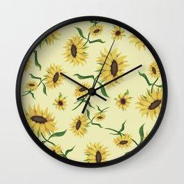 SUNFLOWERS 2 Wall Clock