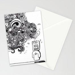 """Bla, bla, bla"" Stationery Cards"