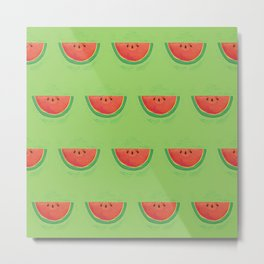 Mmmmm....Watermelon Metal Print