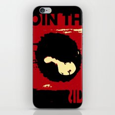 Join us iPhone Skin