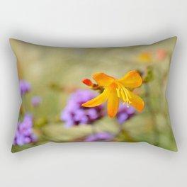 Wild Freesia Rectangular Pillow