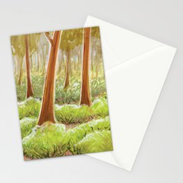 Winter's gone Stationery Cards