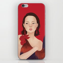YEAR OF THE ROOSTER iPhone Skin