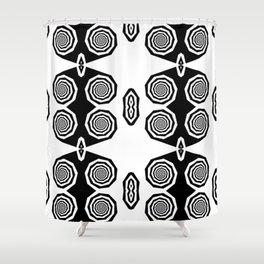 Owl Eye Shower Curtain