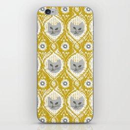 Grey Cat iPhone Skin
