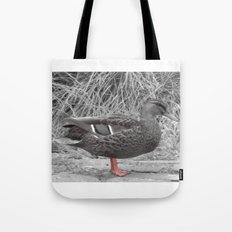 Vintage Duck Tote Bag
