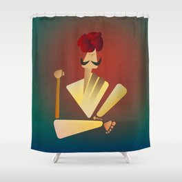 Sarpanch Shower Curtain