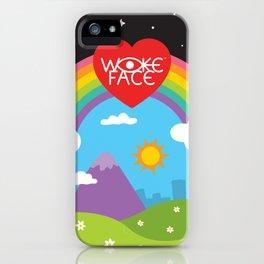Wokeface World iPhone Case