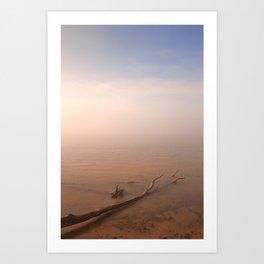 Misty Chesapeake Bay Art Print
