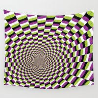 pills Wall Tapestries featuring Pills to Swallow by Andrew J. Nilsen  / Visualinguist