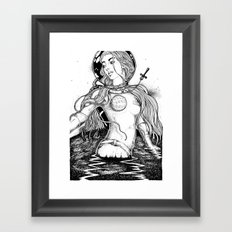 Aurora's Last Escape Framed Art Print