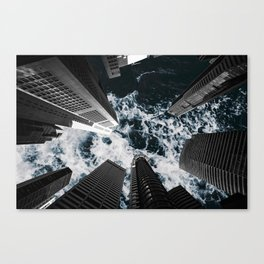 Sky is Rough Canvas Print