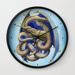 Twisted Dragon Wall Clock