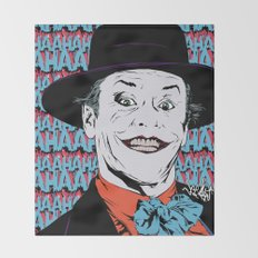 You Can Call Me...Joker! Throw Blanket