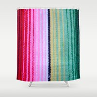 blanket Shower Curtains featuring Blanket by John Lyman Photos
