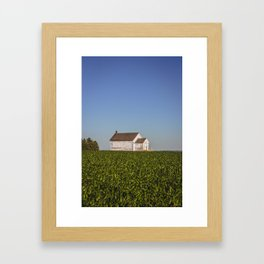 Ingersoll School, North Dakota 21 Framed Art Print