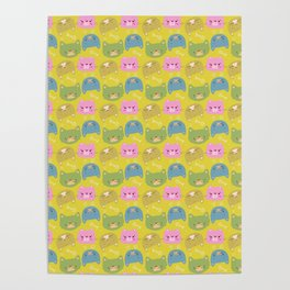 Happy Cats Poster
