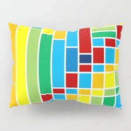Fuzz Outline Pillow Sham