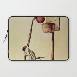 Classical African-American Masterpiece 'High Aspirations' by Ernie Barnes Laptop Sleeve