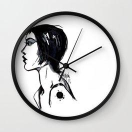 Profile Study Wall Clock