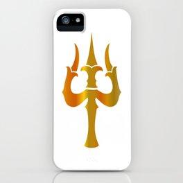 Trident of Shiva- Trishul, sacred symbols of Shaivism- Happy Maha Shivratri iPhone Case
