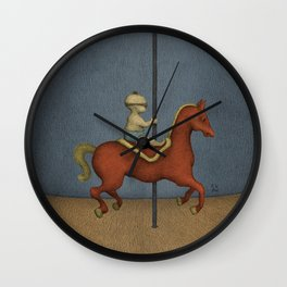 Road to Nowhere - Panel 1 Wall Clock