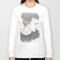 harry styles Long Sleeve T-shirts featuring harry styles by stylin_art