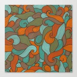 Storm pattern Canvas Print