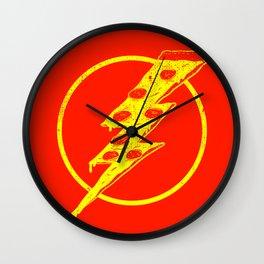 Quick Pizza Wall Clock